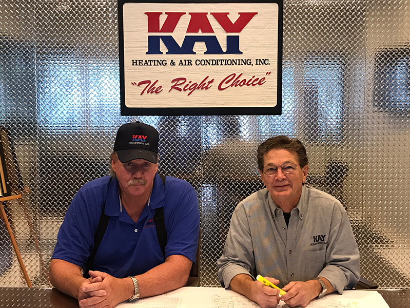 Randy Kay and Bob Hamlett | Kay Heating and Air