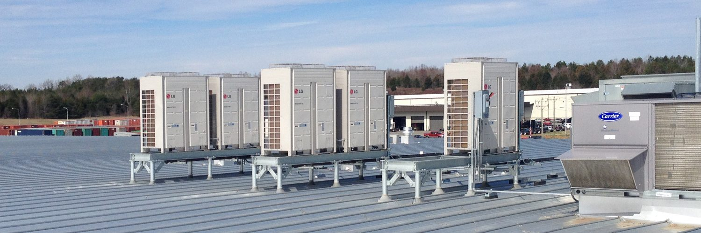 Commercial HVAC services in Burlington, NC